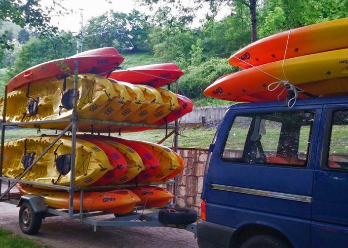 urdaibai, descensos en canoa y paddle surf