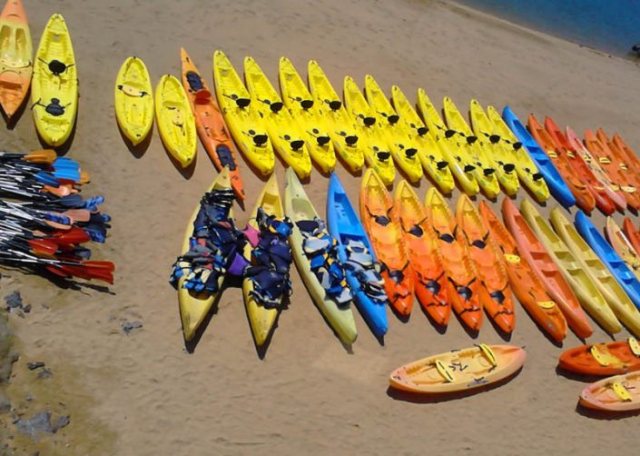 Laida Kanoak - Instalaciones, equipamiento, embarcaciones
