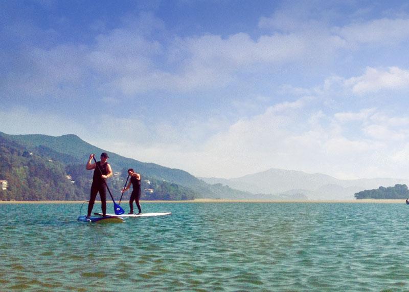 Laida Kanoak - Paseos stand up paddle, ría de Gernika, Udaibai
