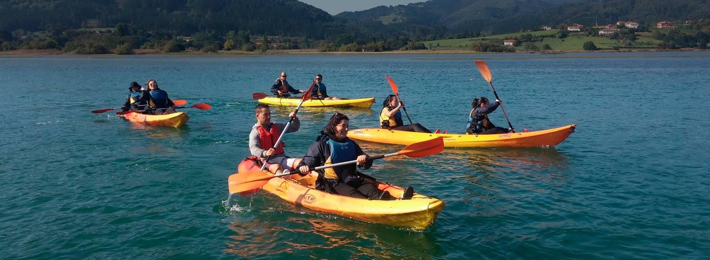 Urdaibai, descensos en canoa y paddle